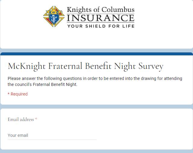 Mcknight survey
