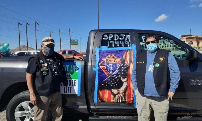 Caravan for life rally 2021